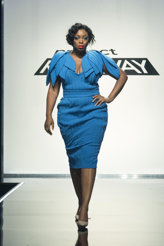 Plus size model, Liris Crosse