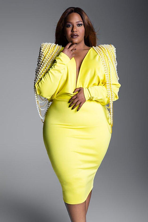 Plus size Opera Soul Singer Madelyn Brene