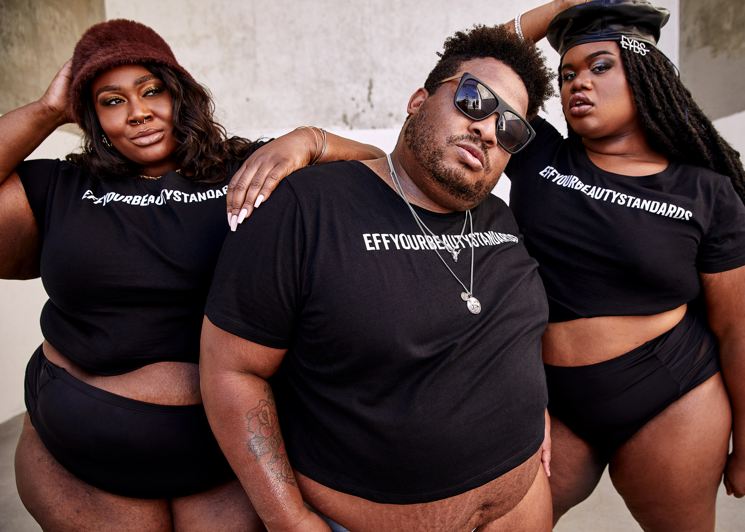 Fashion to Figure x Tess Holliday #EFFYOURBEAUTYSTANDARDS Collection