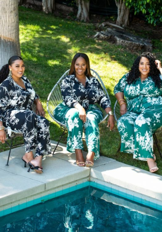 Kin by Kristine Printed Paradise Collection by Trendy Curvy