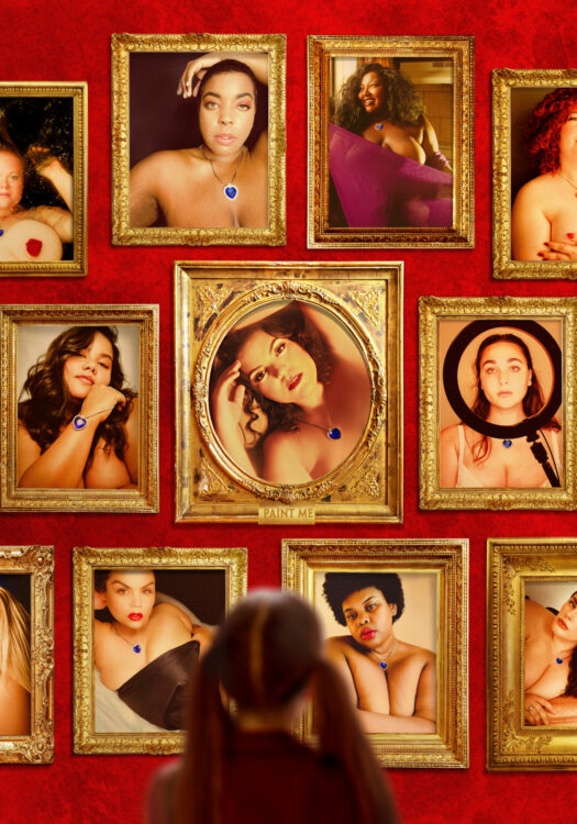 Elle Baez Curates a Plus Size Virtual Gallery for her song Paint Me