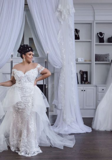 Laine London plus size bridal boutique