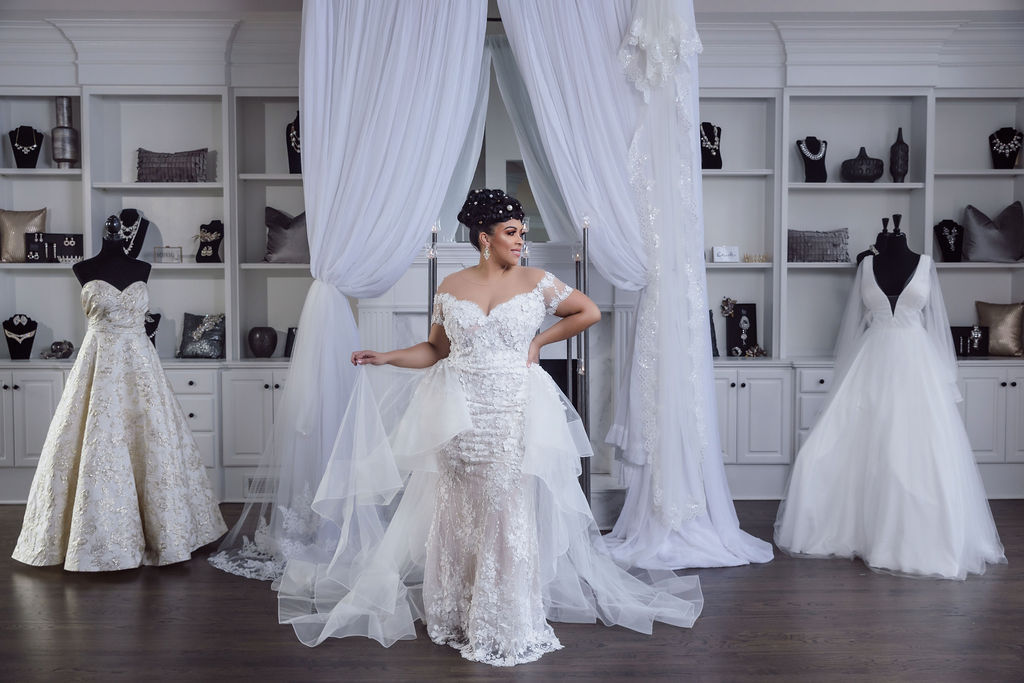 In our latest Speaking of Curves interview, we speak with Lundyn Carter, the coowner of Laine London, a plus size bridal boutique!