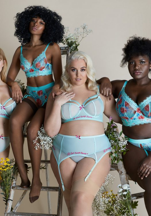 Felicity Hayward x Playful Promises Fall 20 Lingerie collection