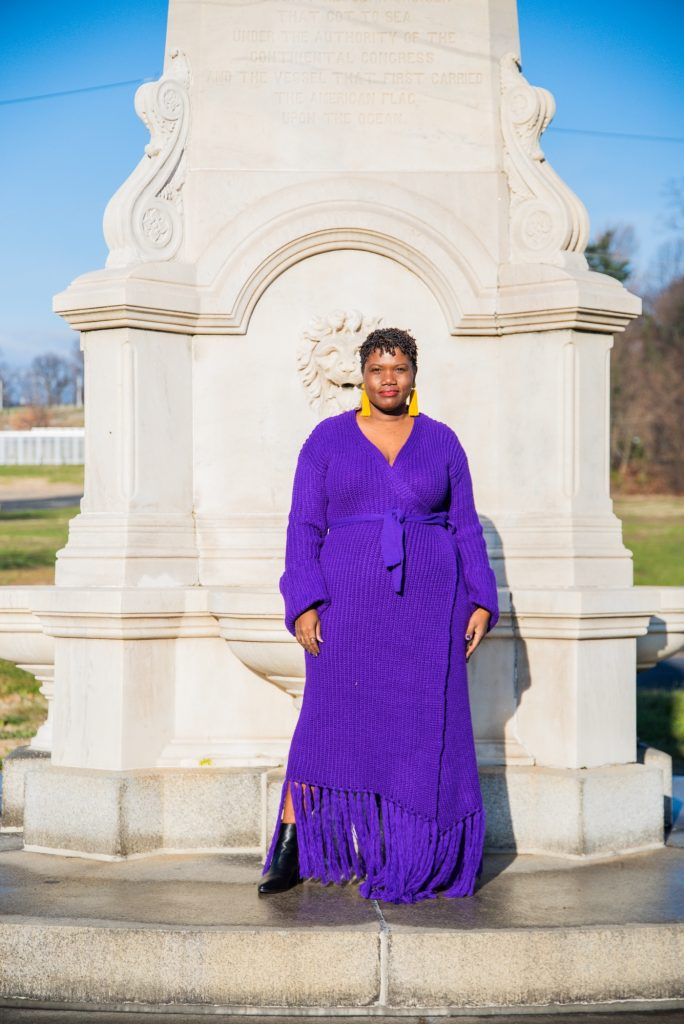 black plus size influencers over 30
