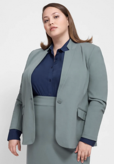 plus size suiting