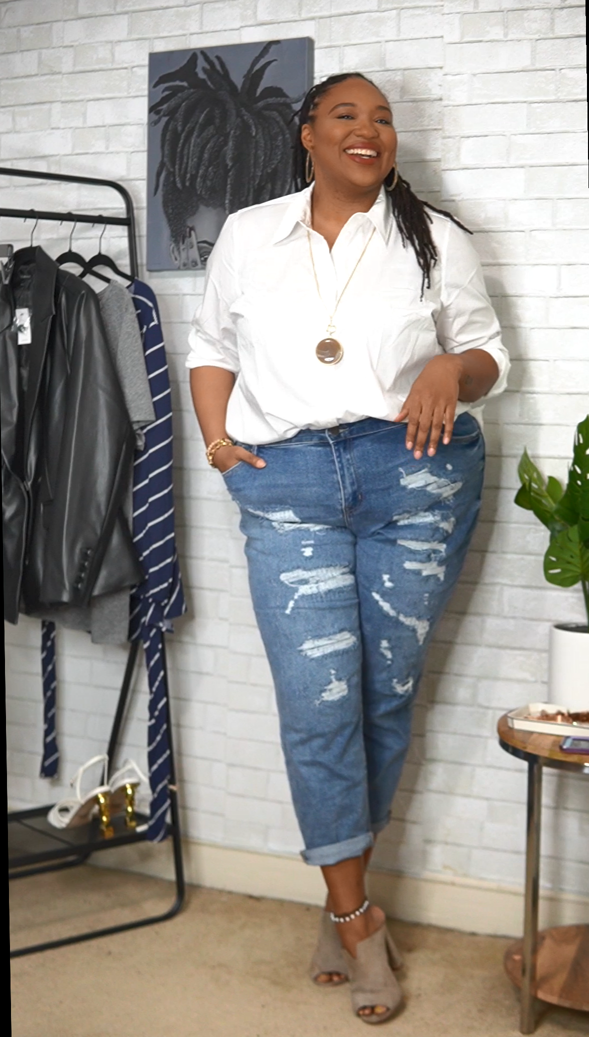 Show me / Style Me: Shainna of a Thick Girl's Closet Shows Us 6 Versatile Lane Bryant Looks