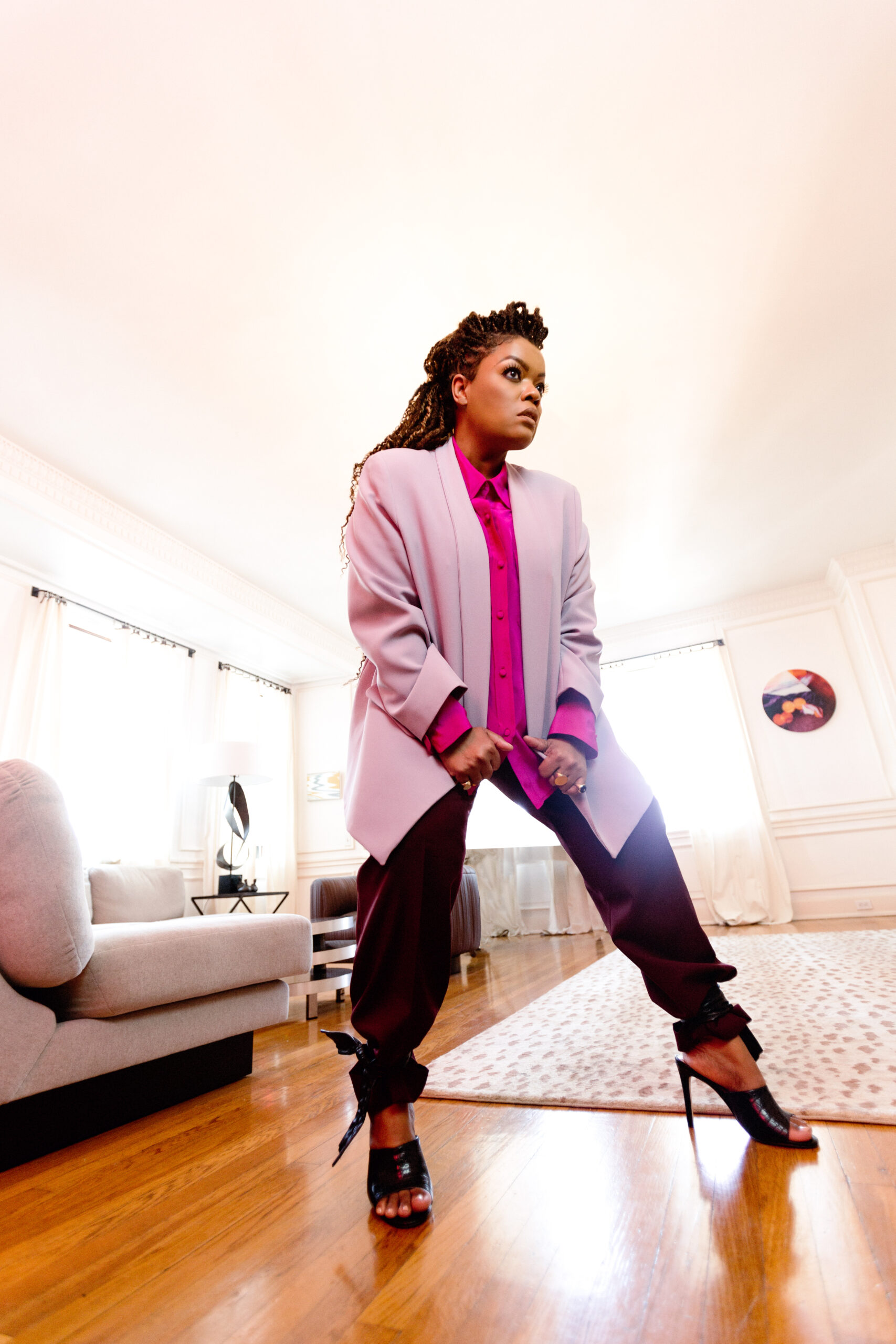 Founder and Designer Cynthia Vincent announced Yvette Nicole Brown is the face of the brand.