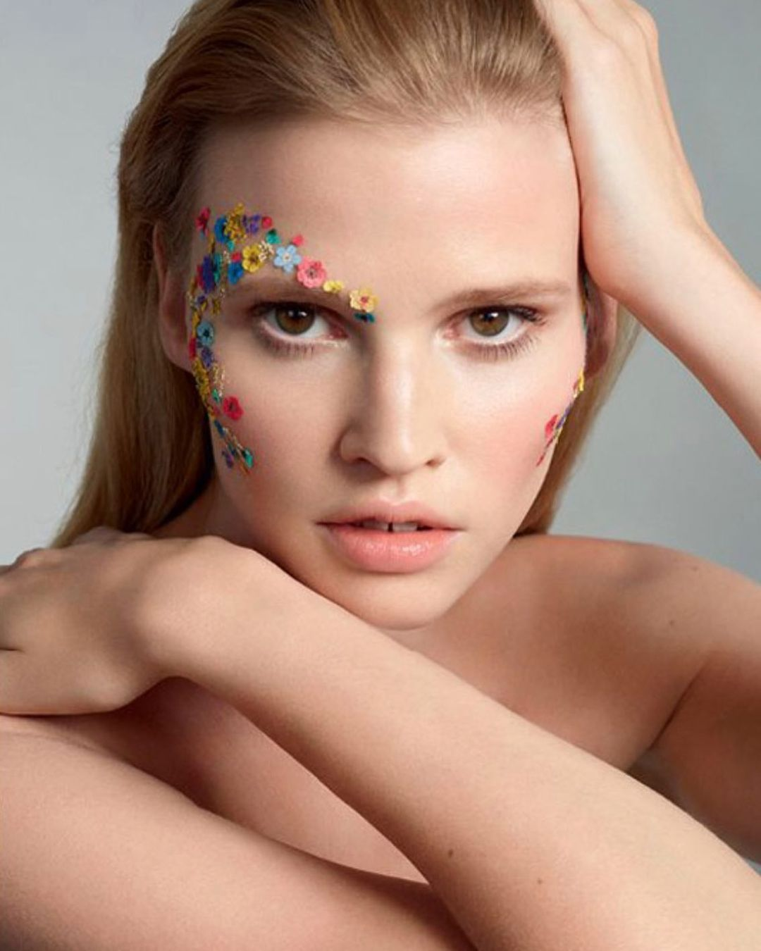 Spring Beauty makeup look. Lisa Eldridge mua