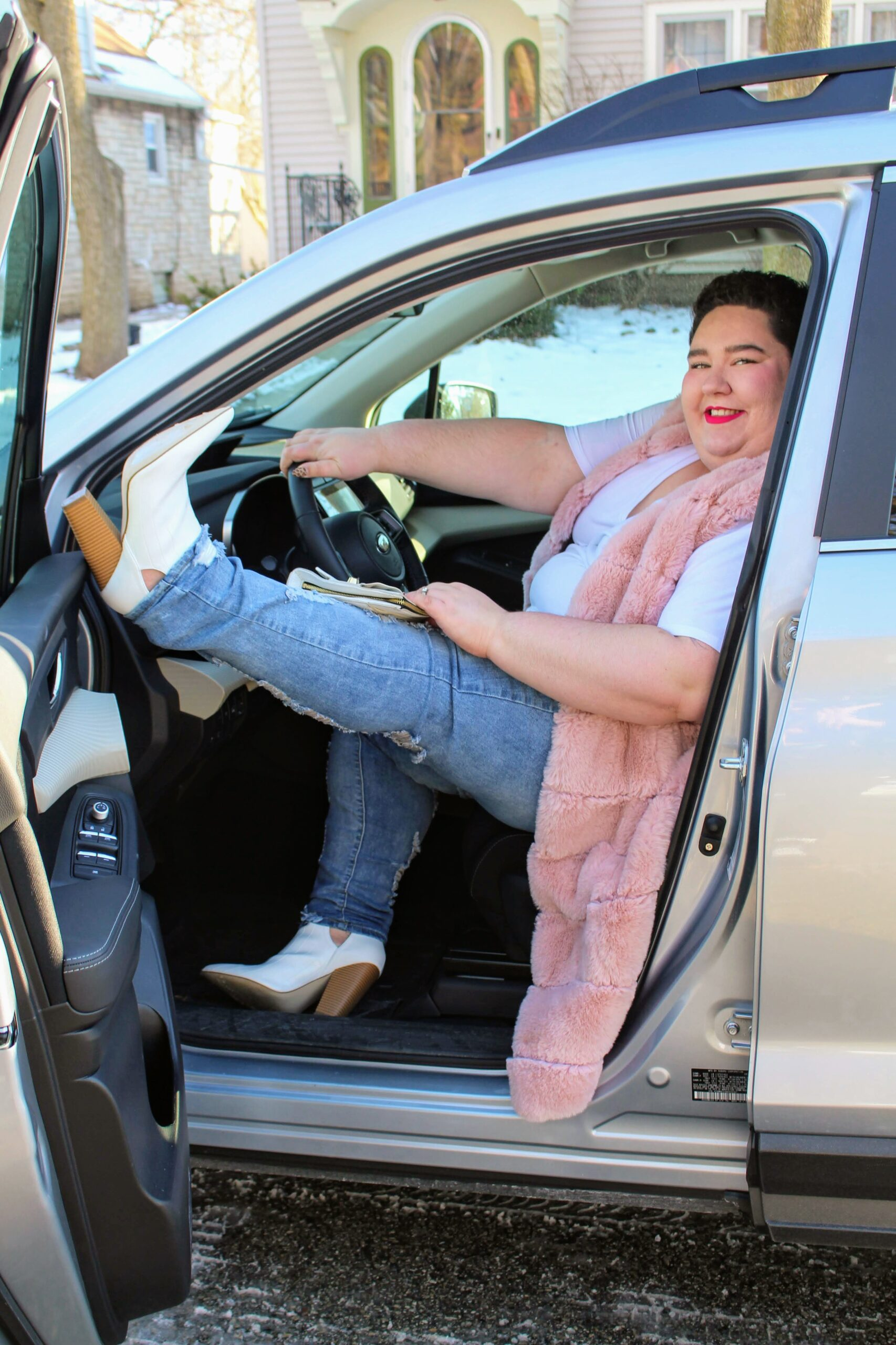 Chaya Milchtein plus size automotive educator