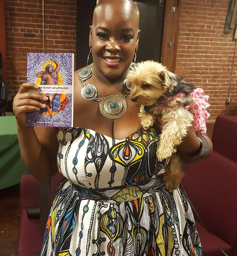 Sonya-Renee-Taylor-author the body is not an apology Fat Positive Books