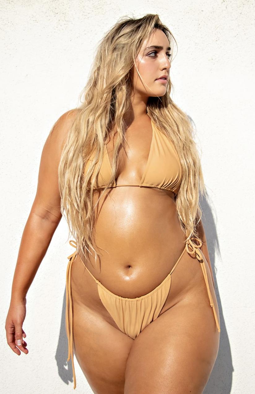 Plus Size Two-Piece Swimwear