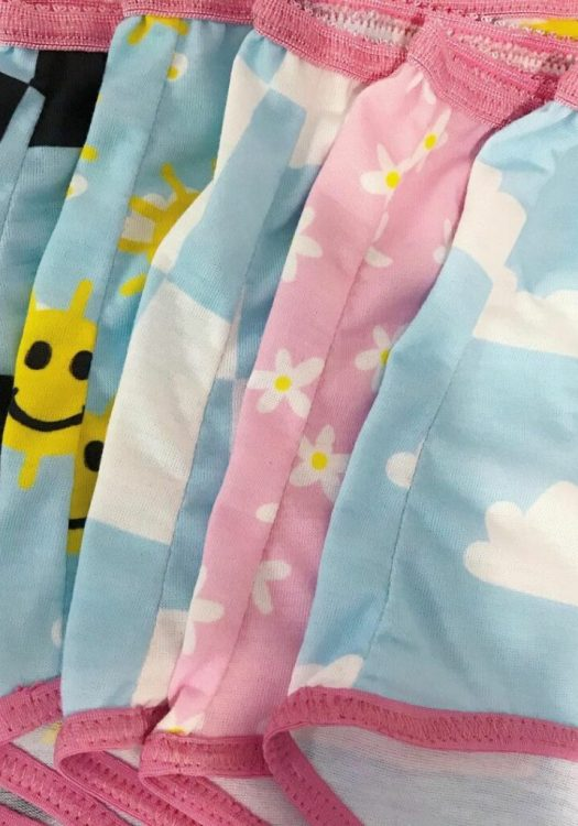 Bouncy Frown Studios Expands Sizing- Sunny Daze underwear collection