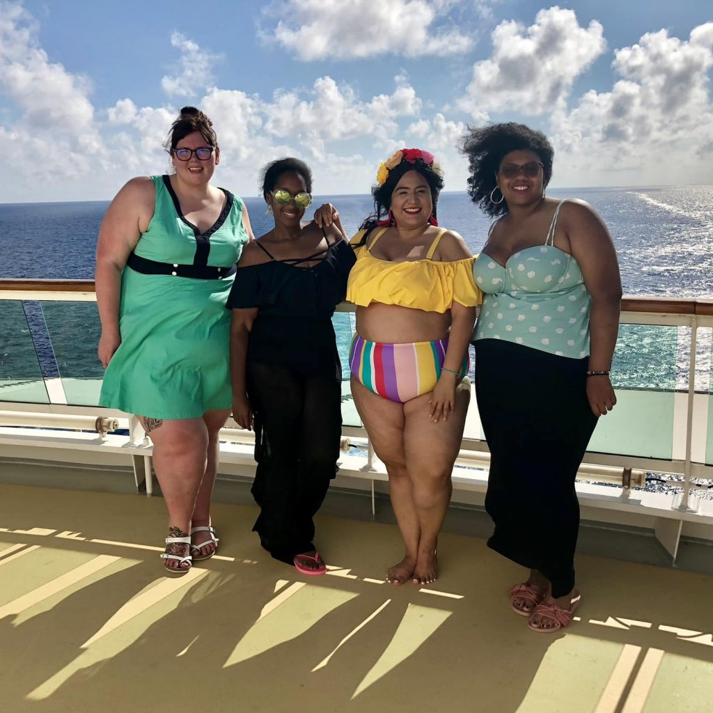 The Curvy Fashionista Has A New Look…And A Brand New Community- TCFStyle Lounge! - tcf cruise