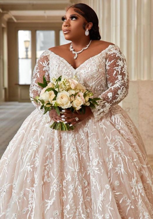 Plus size bridal week - plus size brides inspo