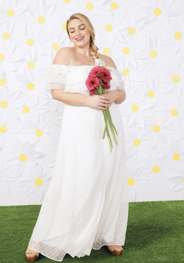 plus size bridal Southern Belles Ringing Maxi Dress By ModCloth