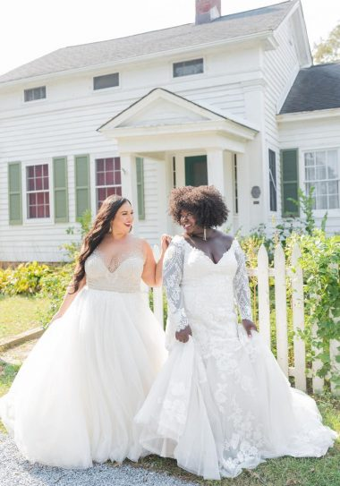 Plus size bridal boutiques to shop in person
