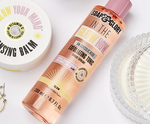Soap and glory radiance boosting collection
