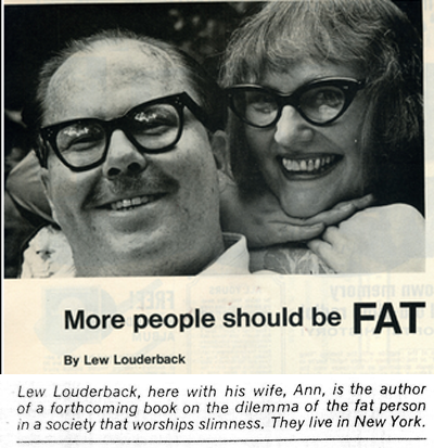 more people should be fat- newspaper article
