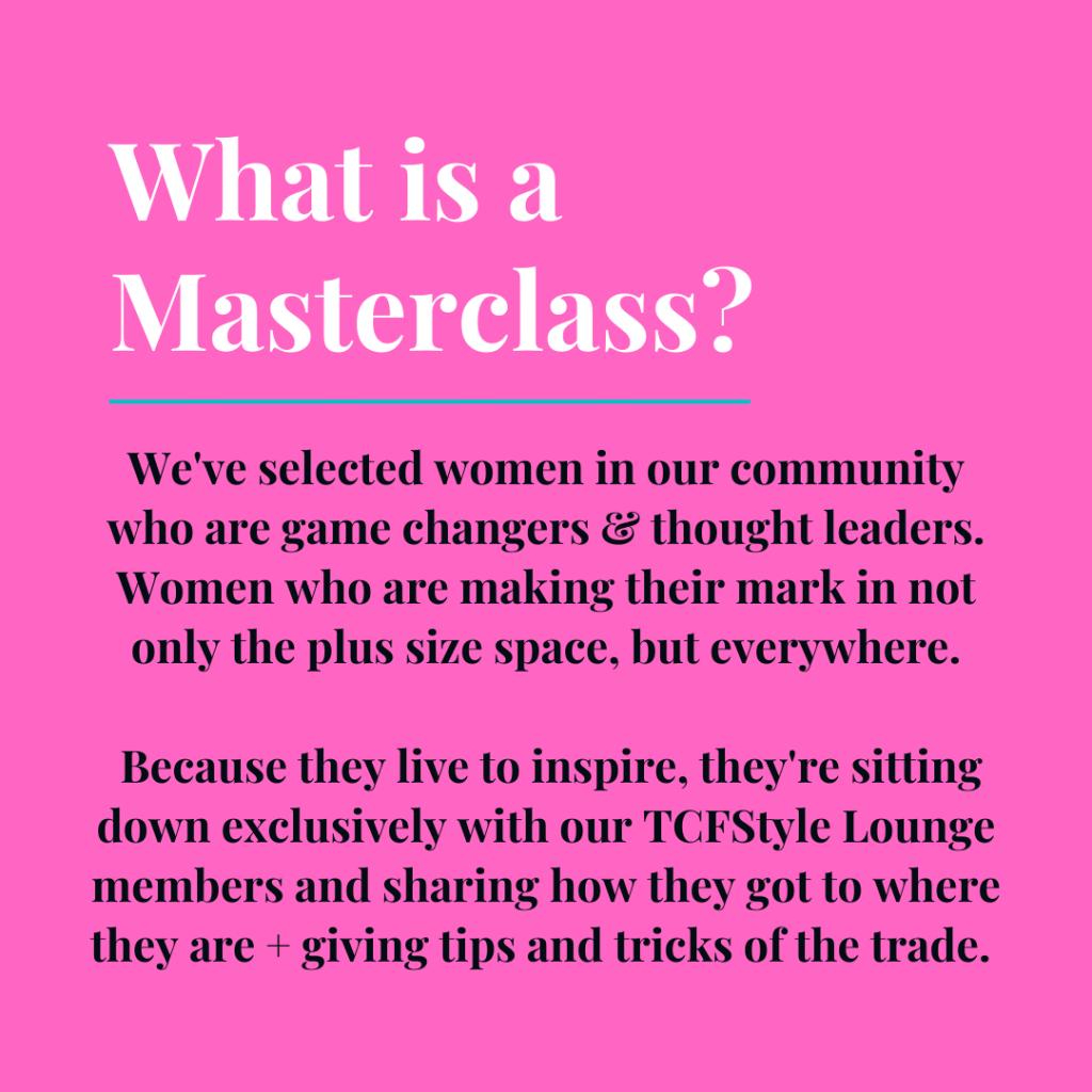 tcfsyle lounge masterclass