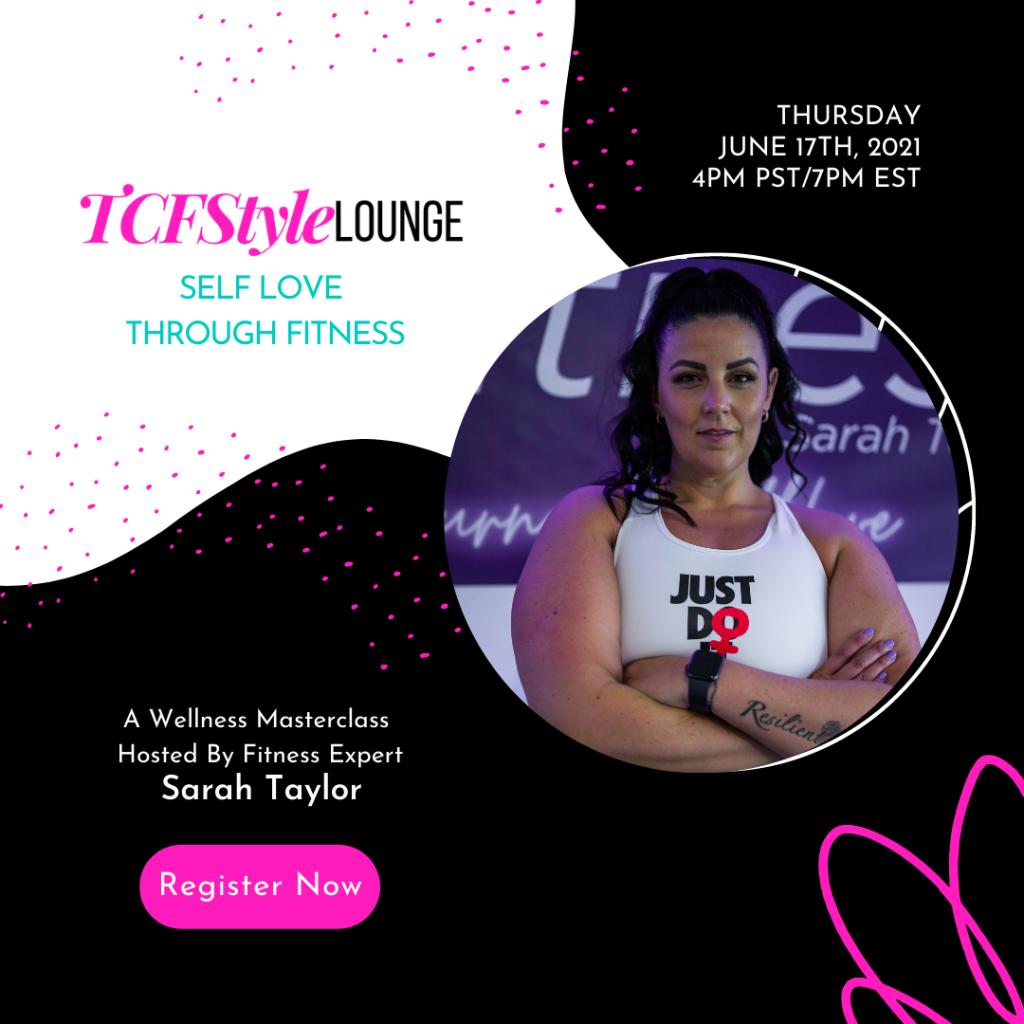 Sarah Taylor TCFSTYLE LOUNGE Masterclass