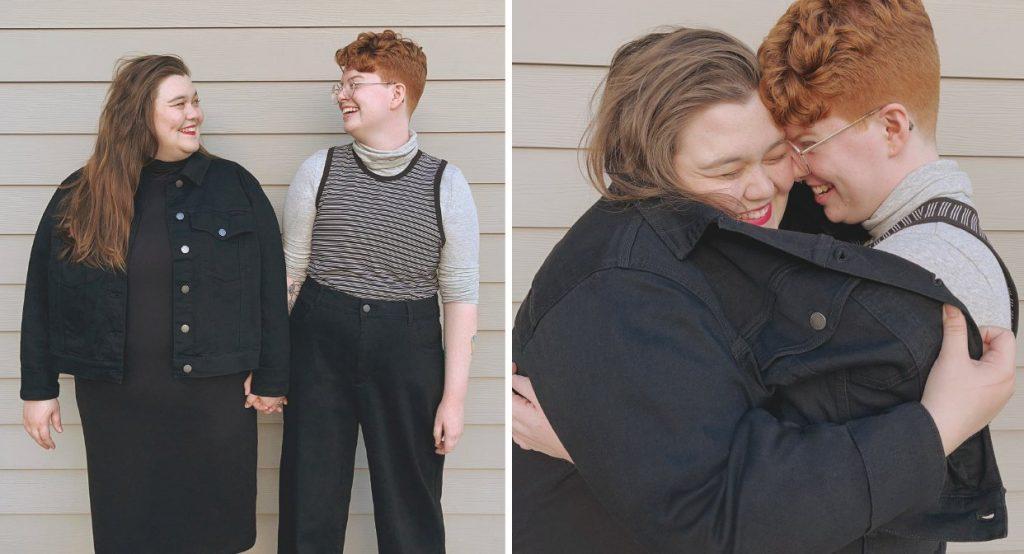 plus size lgbtqia couples we love
