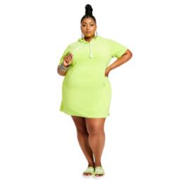 Fila Dreamboat lime dress