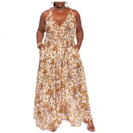 Zelie for she wild oversize maxi dress