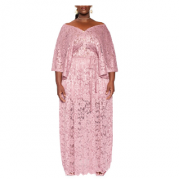zelie for she lace maxi dress