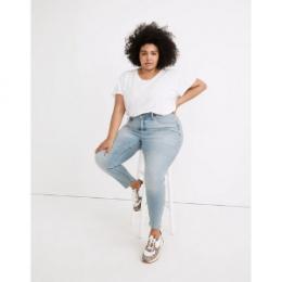 Madewell plus roadstipper jeans