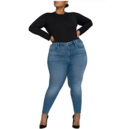 plus size good american skinny jeans
