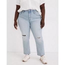 plus size crop boyfriend jeans