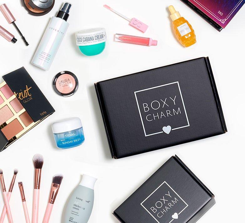 Boxycharm beauty subscription box
