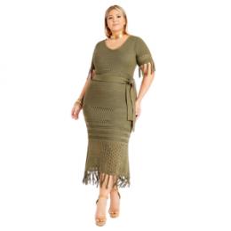 Ashlety Stewart fringe dress
