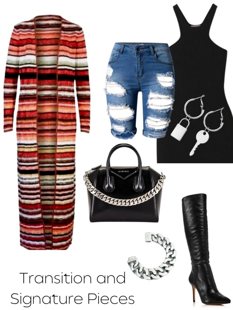 fall transition look transition and signature pieces