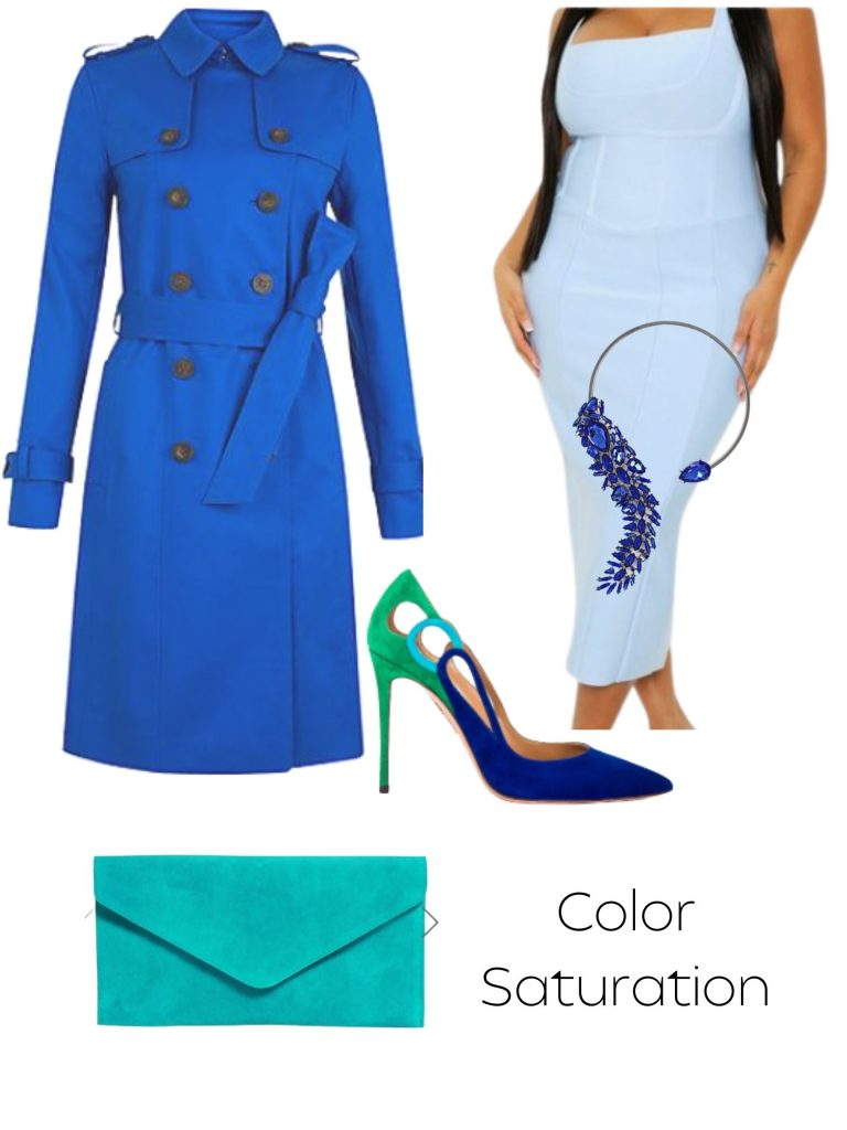 fall transition look saturated shades