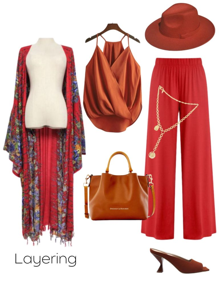 fall transition look the layered look
