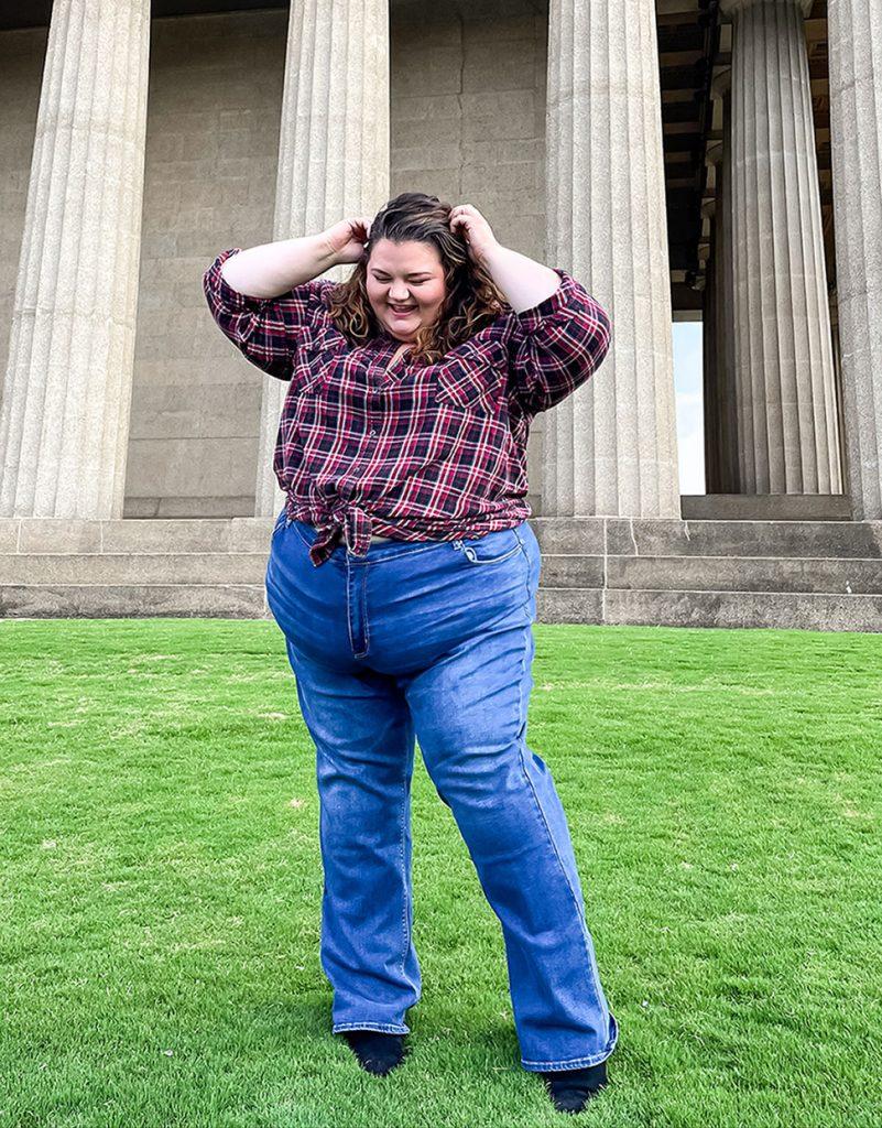 Ashley Stewart plus size jeans