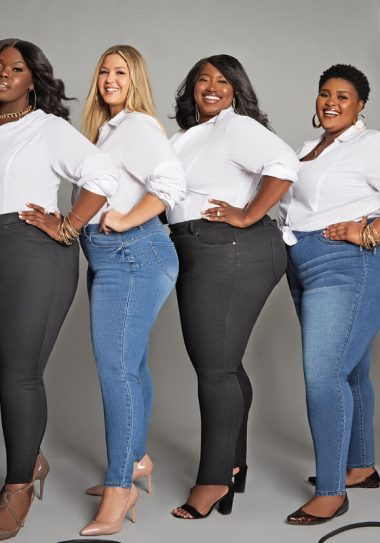 Getting the Right Fit with New Ashley Stewart Denim