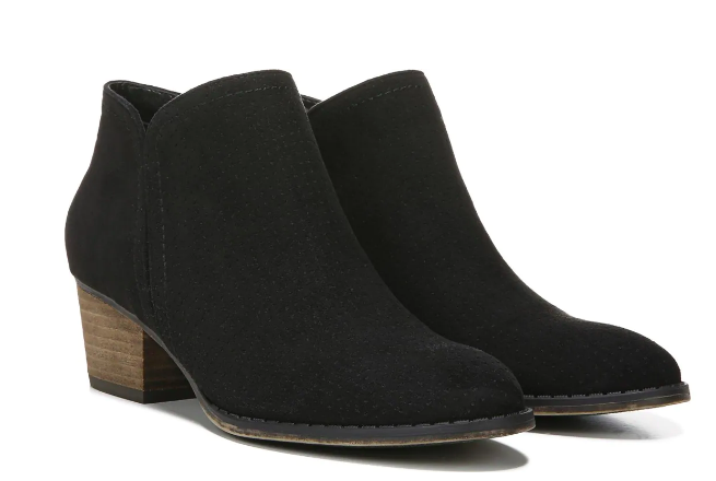 Chelsea boots with a small heel