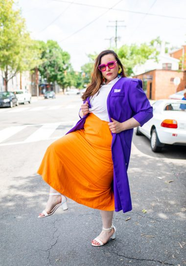3 Tips For Styling Bold Color Into The Fall  - Part 2