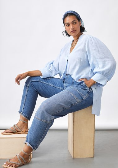 Anthropologie plus size jeans