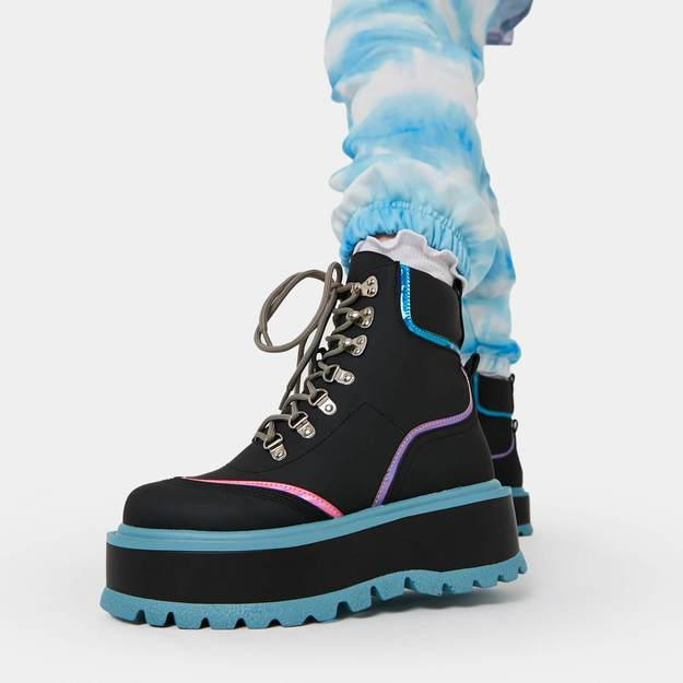 Chunky Fall and Winter boot from Koi Footwear—Spectre Flash Matrix Boots