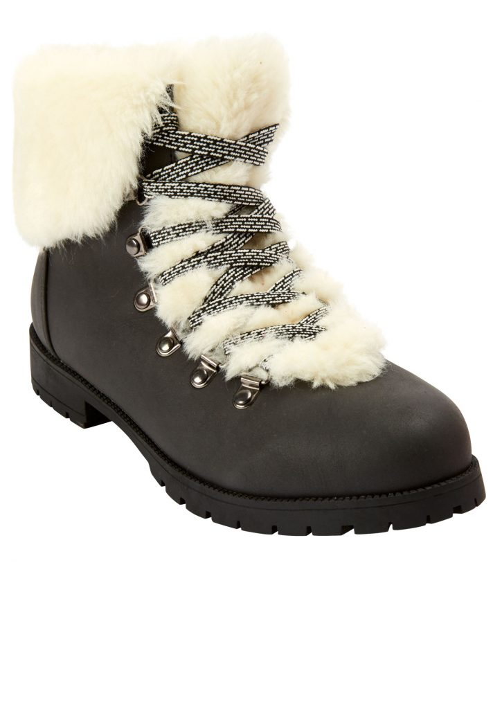 Fall and Winter Fur Boots Woman Within—The Arctic Bootie