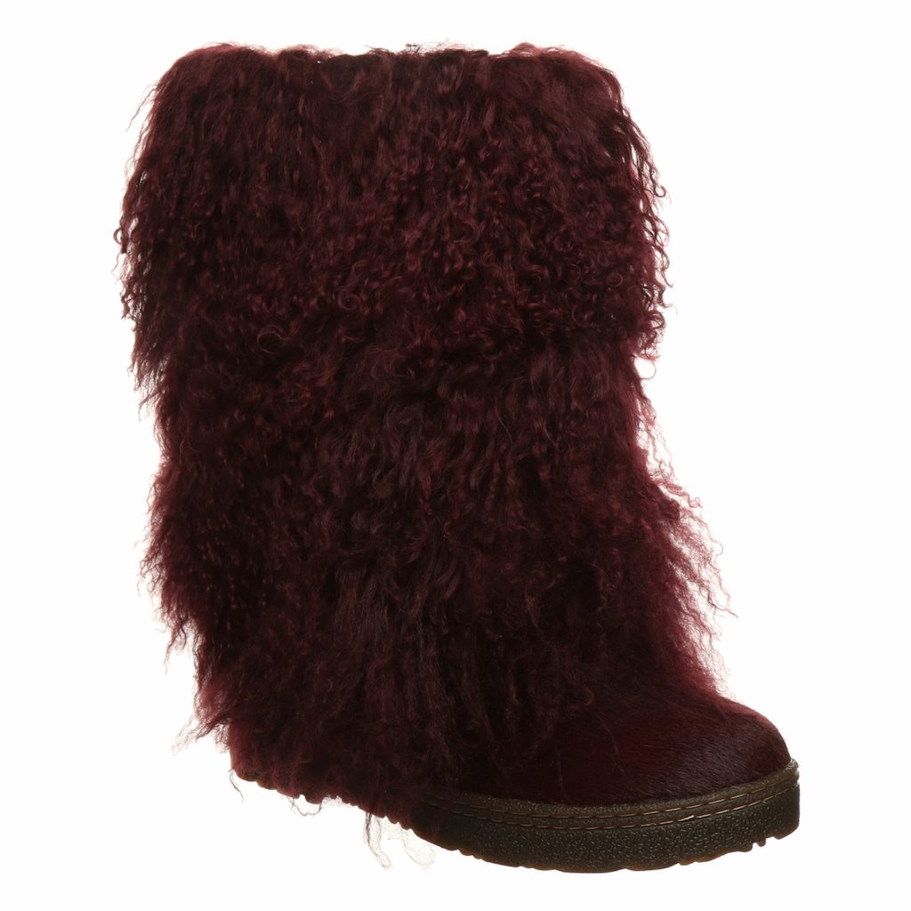 Fall and Winter Fur Boots from Bearpaw—Boetis Wine
