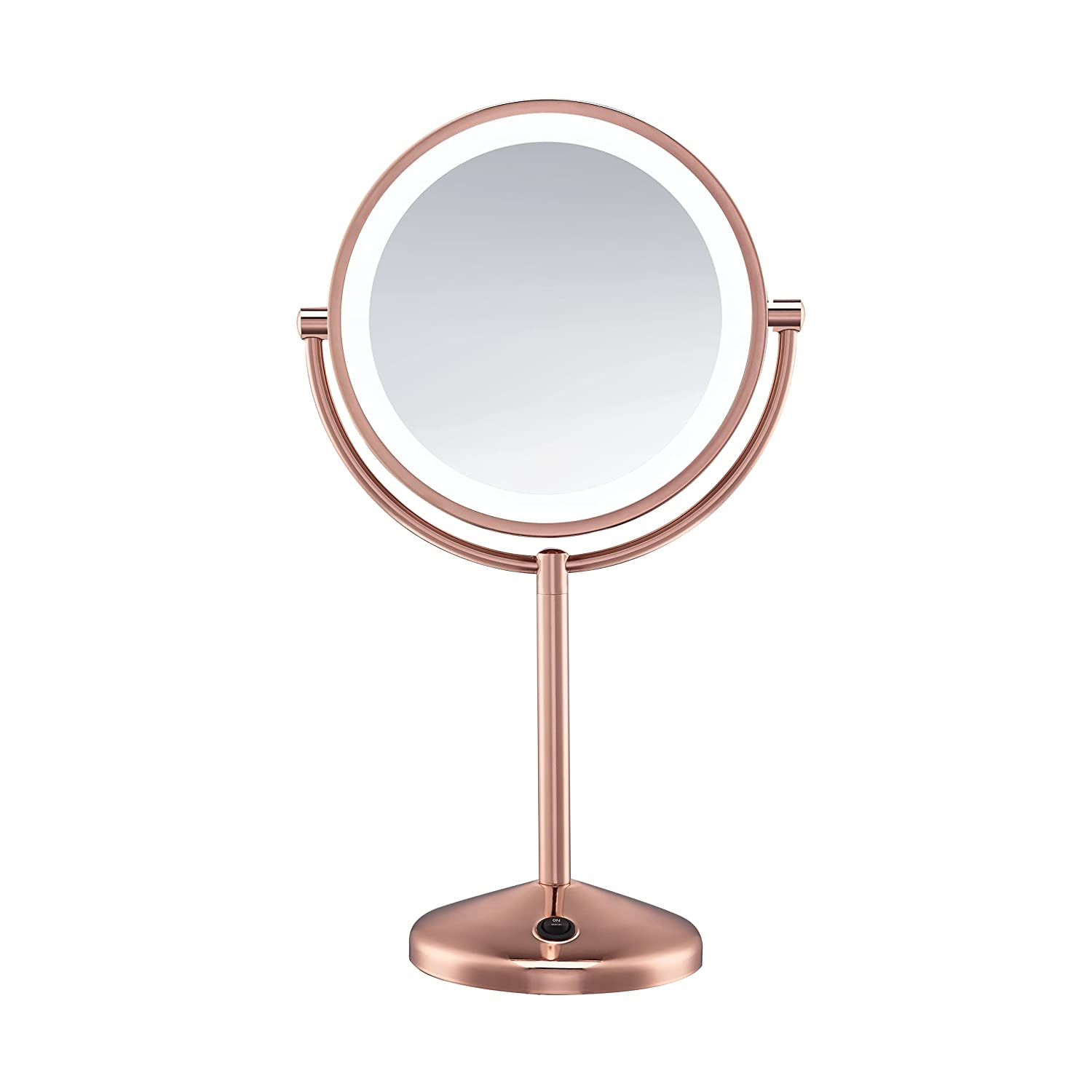 Conair Reflections Double-Sided LED Lighted Vanity Makeup Mirror