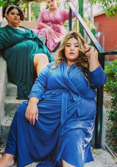 Luxe It Up! Peridot Robes is Providing Luxury Loungewear In Sizes 14-40