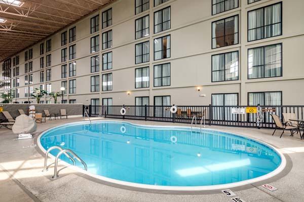 The hotel inventory for Wyndham garden urbana champaign