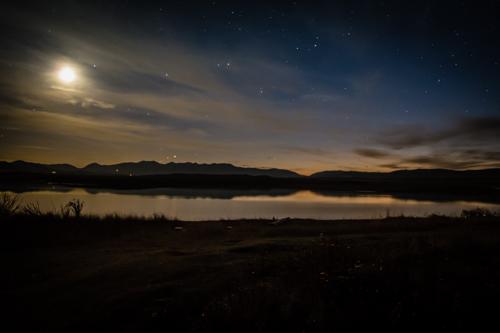 Photo of a reservoir near Wilsall Montana