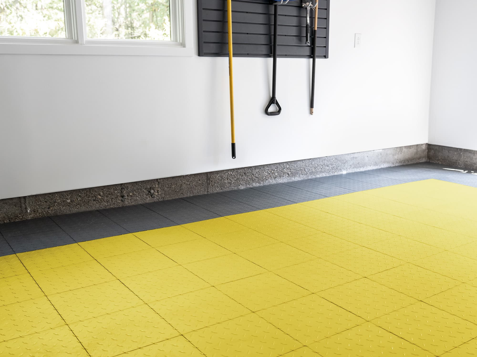EasyGarge Flooring - Citrus Yellow